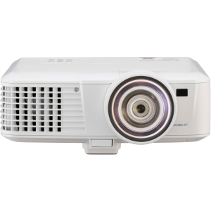 Mitsubishi Mobile EX321U 3D Ready DLP Projector - 720p - HDTV - 4:3 - F/2.6 - 2.9 - SECAM, NTSC, PAL - 1024 x 768 - XGA - 2,700:1 - 3000 lm - HDMI - VGA In - Ethernet - 330 W - 3 Year Warranty