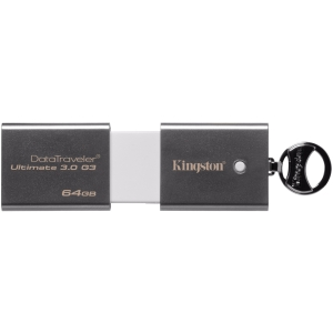 Kingston DataTraveler Ultimate 3.0 DTU30G3 64 GB USB 3.0 Flash Drive - 1 Pack