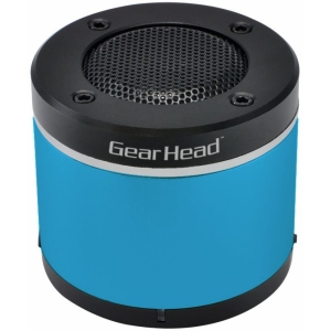 Gear Head BT3000BLU Speaker System - Wireless Speaker(s) - Blue - USB - iPod Supported