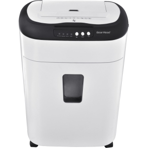 Gear Head 60 Sheet Auto Feed Micro-Cut Shredder - Micro Cut - 60 Per Pass - 5 gal Waste Capacity