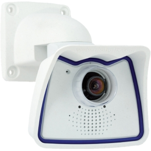 Mobotix Allround M24 MX-M24M-SEC Surveillance/Network Camera - Color, Monochrome - CS Mount - CMOS - Cable - Fast Ethernet - USB