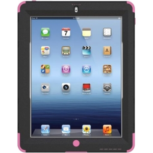 Trident Kraken AMS Carrying Case (Holster) for iPad - Pink - Polycarbonate, Silicone