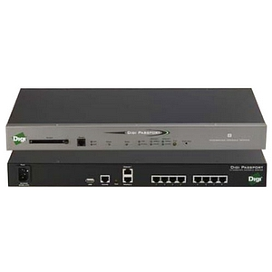 Digi Passport 48-Port Console Server with Modem - 48 x RJ-45 , 2 x RJ-45 , 1 x RJ-11 , 1 x