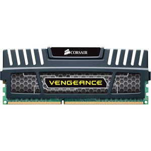Corsair Vengeance 4GB DDR3 SDRAM Memory Module - 4 GB (1 x 4 GB) - DDR3 SDRAM - 1600 MHz DDR3-1600/PC3-12800 - Non-ECC - Unbuffered - 240-pin DIMM