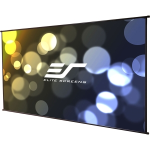 "Elite Screens DIY Wall DIYW100H Projection Screen - 66"" x 118"" - MaxWhite - 135"" Diagonal - 16:9 - Portable, Wall Mount"