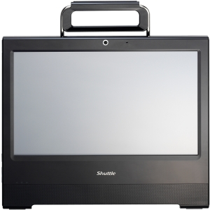 "Shuttle X50V3L All-in-One Computer - Intel Atom 1.86 GHz - Desktop - Black - Intel Graphics Media Accelerator 3650 Graphics 15.6"" Touchscreen Display - Wi-Fi"