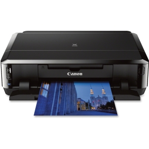 Canon PIXMA iP7220 Inkjet Printer - Color - 9600 x 2400 dpi Print - Photo/Disc Print - Desktop - 15 ipm Mono Print / 10 ipm Color Print (ISO) - 21 Second Photo - Automatic Duplex Print - Wi-Fi - USB