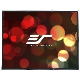 "Elite Screens DIY DIY123RH Projetion Screen - 59.8"" x 106.4"" - Wraith Veil - 123"" Diagonal - 16:9 - Portable"
