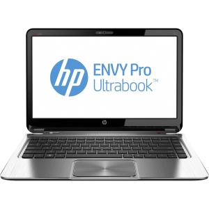 "HP ENVY Pro C9K74UT 14"" LED Ultrabook - Intel - Core i5 i5-3317U 1.7GHz - 1366 x 768 HD Display - 4 GB RAM - 320 GB HDD - Intel HD 4000 Graphics - Bluetooth - Webcam - Genuine Windows 8 Pro - 8 Hour Battery - HDMI"