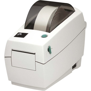 Zebra LP 2824 Plus Direct Thermal Printer - Monochrome - Desktop - Label Print - 4 in/s Mono - 203 dpi - Fast Ethernet - USB