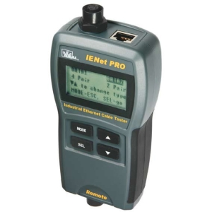 IDEAL VDV PRO Cable Tester - 1 x Network (RJ-45) - Coaxial, Twisted Pair