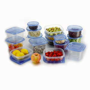Deluxe 34 Piece Food Container Storage Set