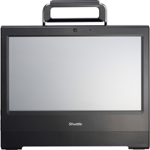 "Shuttle X50V3L All-in-One Computer - Intel Atom D2550 1.86 GHz - Desktop - White - 15.6"" Touchscreen WXGA Display - Intel Graphics Media Accelerator 3650 Graphics - Wi-Fi - Webcam - HDMI"