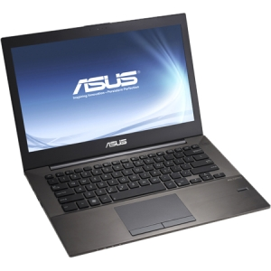 Asus B400A-XH52 14.1&quot; LED Notebook - Intel Core i5 i5-3317U 1.70 GHz - Black - 1366 x 768 HD Display - 4 GB RAM - 500 GB HDD - Intel HD 4000 Graphics - Bluetooth - Webcam - Genuine Windows 7 Professional - HDMI - DisplayPort