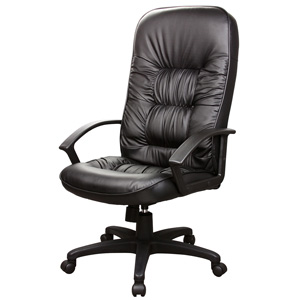 Rosewill High-Back Artificial Leather Executive Chair (Black)