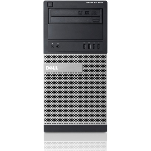 Dell OptiPlex Desktop Computer - Intel Core i7 i7-3770 3.40 GHz - Mini-tower - 4 GB RAM - 500 GB HDD - DVD-Writer - Genuine Windows 7 Professional - DisplayPort