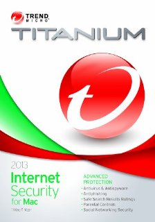 2013 TITANIUM INTERNET SECURITY FOR MAC 1U