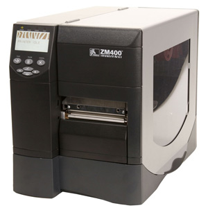 Zebra ZM400 Thermal Label Printer - Monochrome - 8 in/s Mono - 300 dpi - USB, Serial, Parallel