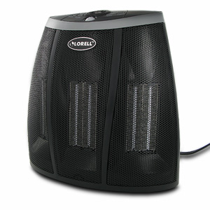 LORELL Ceramic Heater with Built-in Motion Sensor & Digital Display