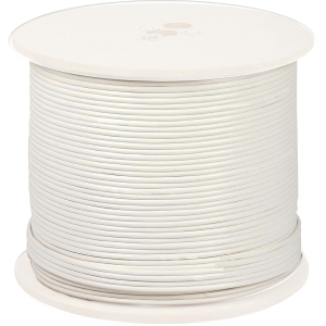 500FT SHIELD RG-59 CCTV CABLE  W VIDEO POWER 18 AWG 6.0MM WHITE