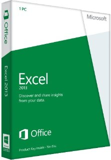 Microsoft Excel 2013 32/64-bit - Standard Retail License for 1 PC