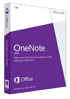 Microsoft OneNote 2013 32/64-bit - License for Non-Commercial Use on 1 PC (Key Card)