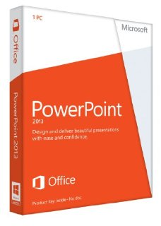 Microsoft PowerPoint 2013 32/64-bit - License for Non-Commercial Use on 1 PC (Key Card)