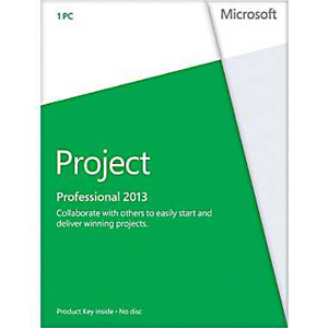 Project Professional 2013 32-Bit/64-Bit for 1 PC (Key Card)