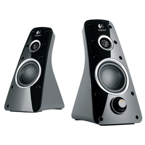 Logitech Speaker System Z520 - 360-Degree Rich Audio Sound