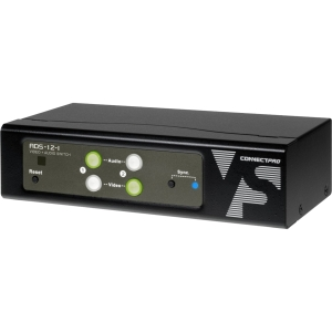 Connectpro ADS Audio/Video Switchbox - 2 x 1 - WUXGA