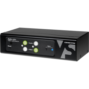 Connectpro AVS Audio/Video Switchbox - 2 x 1 - VGA, SVGA, XGA, SXGA, UXGA, WUXGA