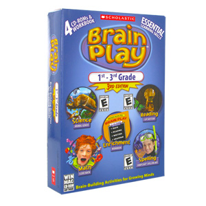 Brain Play 1st - 3rd Grade, 3rd Edition