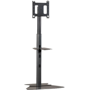 Chief MF1-UB Flat Panel Display Mobile Cart - Up to 125lb Flat Panel Display - Black