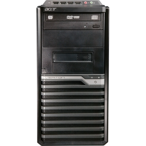 Acer Veriton Desktop Computer - Intel Core i3 i3-3220 3.30 GHz - 4 GB RAM - 500 GB HDD - DVD-Writer - Genuine Windows 8 Pro - DVI