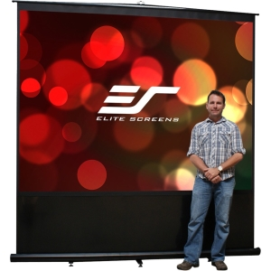 "Elite Screens Reflexion FM110H Projection Screen - 53.9"" x 95.9"" - MaxWhite - 110"" Diagonal - 16:9 - Portable"