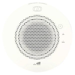 CyberData Speaker - White - Ceiling Mountable