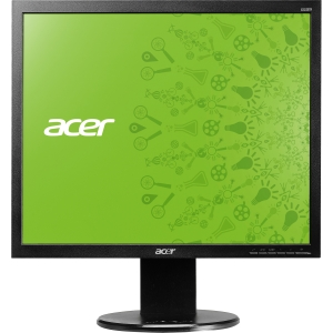 "Acer B193L 19"" LED LCD Monitor - 4:3 - 5 ms - 250 Nit - 100,000,000:1 - Speakers - DVI - VGA - Black - EPEAT Silver, TCO '05, Energy Star"