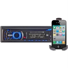 AM/FM/CD/MP3 USB IPOD RECEIVER 240 WATT 2 AUX INPUTS-AUTH REQD