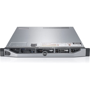 Dell PowerEdge 1U Rack Server - 1 x Intel Xeon E5-2620 2 GHz - 2 Processor Support - 8 GB Standard/768 GB Maximum RAM - 600 GB HDD - DVD-Reader - 6Gb/s SAS RAID Supported Controller - Gigabit Ethernet - RAID Level: 0, 1, 1+0, 5, 5+0, 6, 6+0
