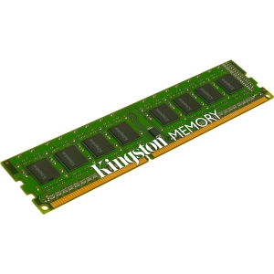 Kingston 4GB 1333MHz Module Single Rank - 4 GB (1 x 4 GB) - DDR3 SDRAM - 1333 MHz DDR3-1333/PC3-10600