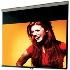 "Draper Luma Projection Screen - Manual - 50"" x 80"" - 94"" Diagonal - Wall Mount, Ceiling Mount"