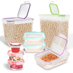 Snapware 16 Piece Airtight Plastic Food Storage Set