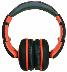 SESSION SERIES HEADPHONE ORANGE CLOSED BACK HEADPHONES