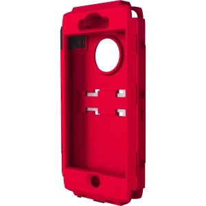 Trident Carrying Case (Holster) for iPhone - Red - Polycarbonate, Plastic