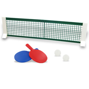 Tabletop Anytime-Anywhere Table Tennis