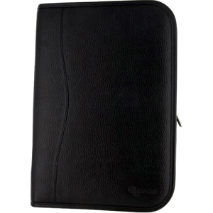 rooCAse Executive Leather Case Cover for Google Nexus 10 - Black - Leather