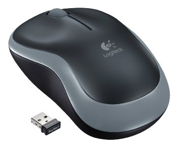 Logitech Wireless Mouse M185 - Swift Gray (910-002225)