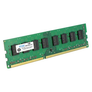 EDGE 8GB DDR3 SDRAM Memory Module - 8 GB (1 x 8 GB) - DDR3 SDRAM - 1600 MHz DDR3-1600/PC3-12800 - Non-ECC - Unbuffered - 240-pin DIMM