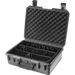 "Pelican iM2400 Storm Case with Padded Dividers - 0.91 ft³ - Internal Dimensions: 13"" Height x 18"" Width x 6.70"" Depth - External Dimensions: 15.2"" Height x 19.2"" Width x 7.3"" Depth - HPX Resin"