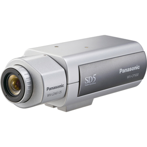 Panasonic WV-CP500 Surveillance/Network Camera - Color, Monochrome - CCD - Cable